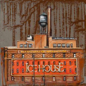 schilderij ice house