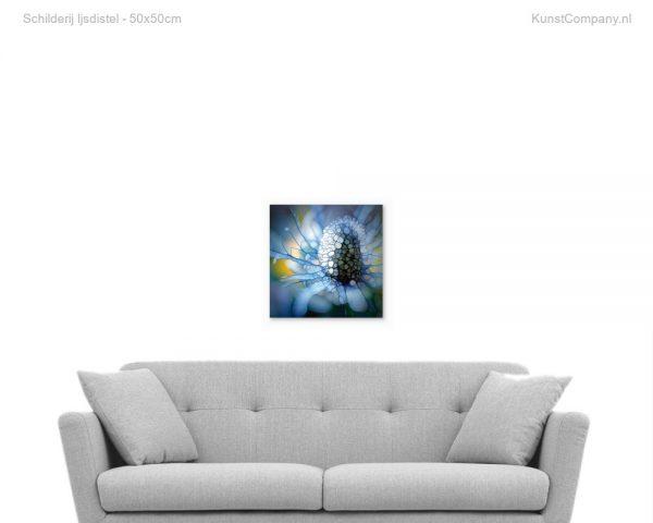 schilderij ijsdistel