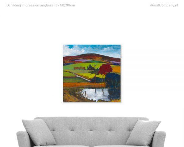 schilderij impression anglaise iii