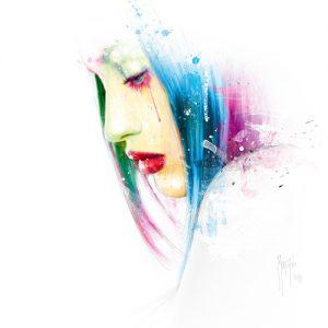schilderij in love