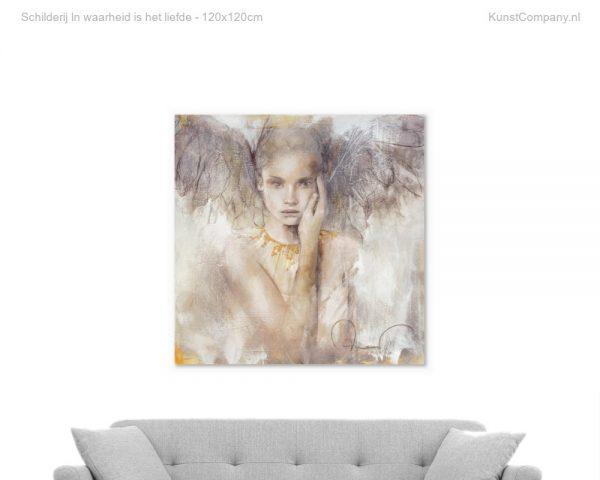 schilderij in waarheid is het liefde