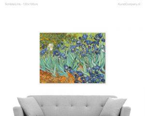 schilderij iris