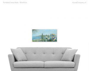 schilderij isola bella
