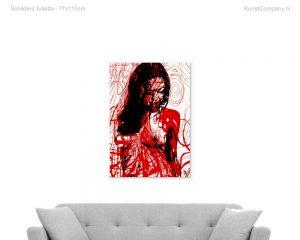 schilderij julietta