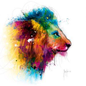 schilderij jungles king