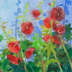 schilderij kaasjeskruid