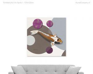 schilderij koi vio spots i