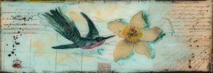 schilderij kolibri