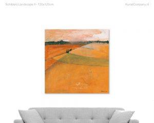 schilderij landscape ii