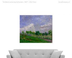 schilderij landschap bij kandern
