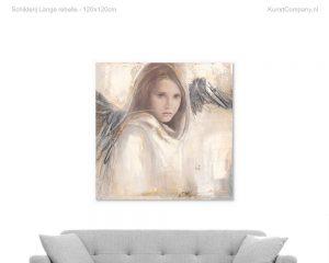 schilderij lange rebelle