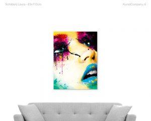 schilderij laura