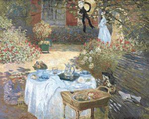 schilderij le dejeuner