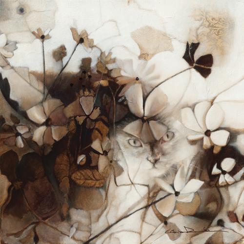 schilderij le jardin de tara ii