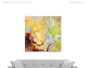 schilderij les pommes ii