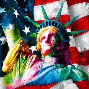 schilderij liberty