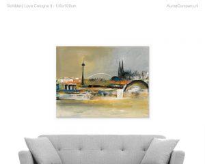 schilderij love cologne ii