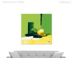 schilderij lueur verte