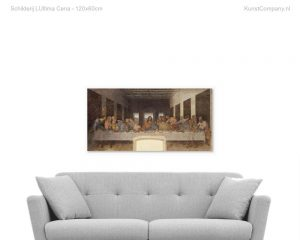 schilderij lultima cena
