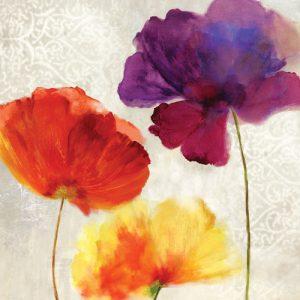 schilderij lush floral ii