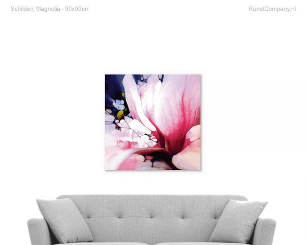 schilderij magnolia