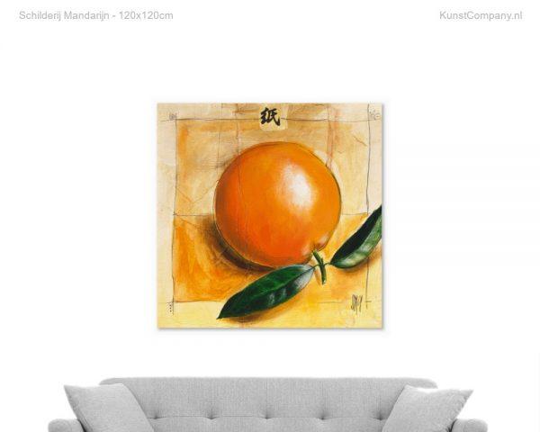 schilderij mandarijn