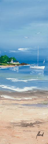 schilderij maree basse i