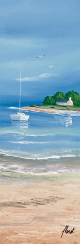 schilderij maree basse ii