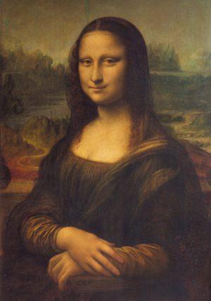 schilderij mona lisa