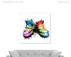 schilderij my shoes