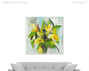 schilderij narcissa