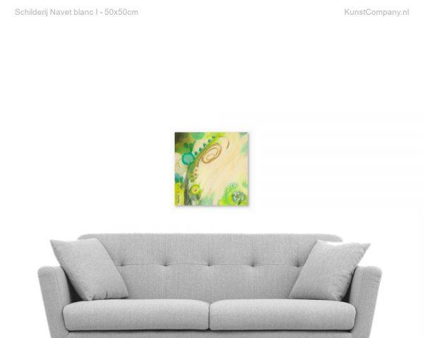 schilderij navet blanc i