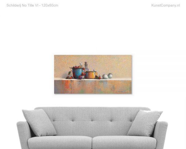 schilderij no title vi