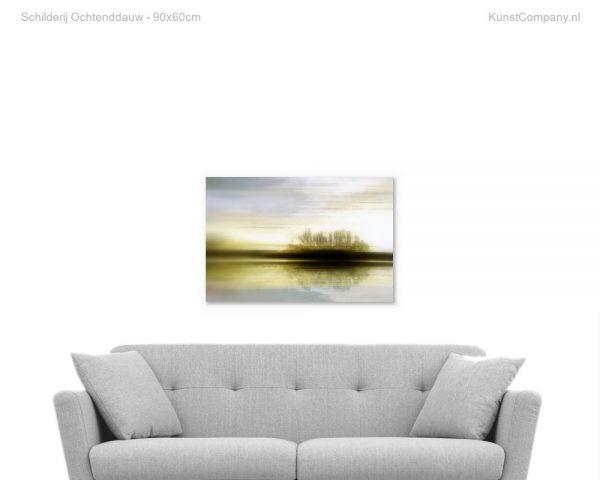 schilderij ochtenddauw