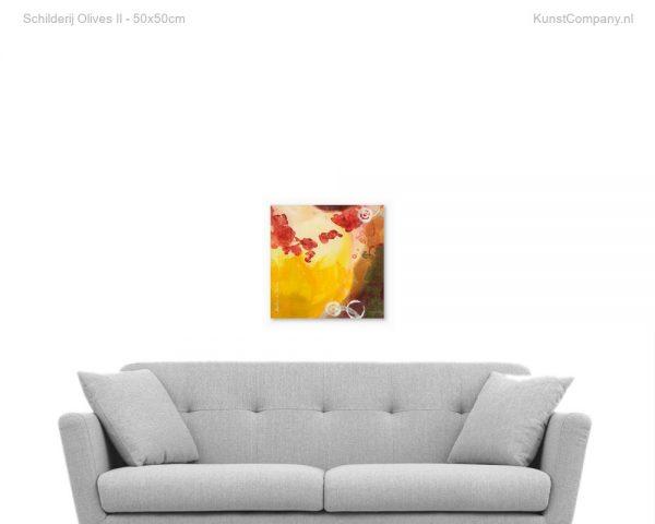 schilderij olives ii