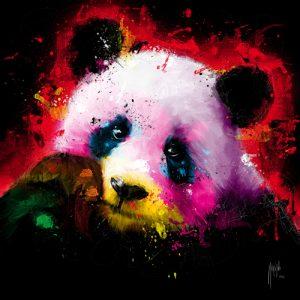 schilderij panda pop