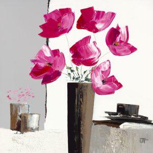 schilderij pivoines roses ii