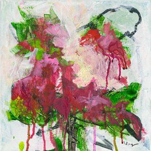 schilderij poisonettia