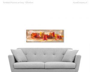 schilderij poivrons en long