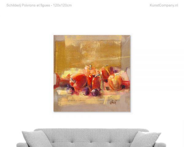 schilderij poivrons et figues