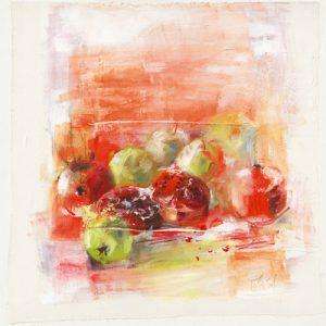 schilderij pommes et poires