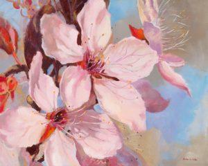 schilderij printemps