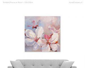 schilderij prunus en fleurs i