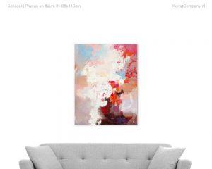 schilderij prunus en fleurs ii