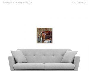 schilderij pure cane sugar