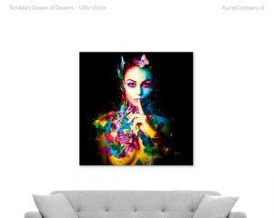 schilderij queen of dreams