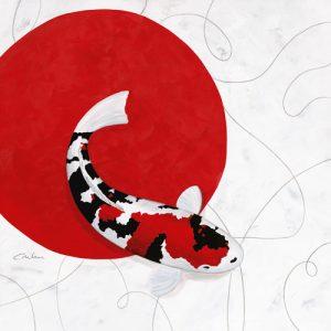schilderij red point showa