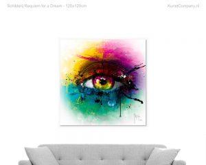 schilderij requiem for a dream