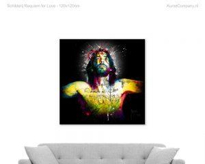 schilderij requiem for love