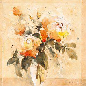 schilderij roses iv